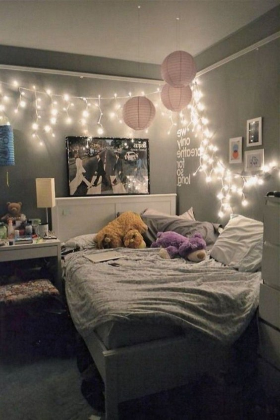 Cute Teen Bedroom Decor Design Ideas 14