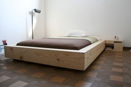 Lovely Diy Wooden Platform Bed Design Ideas 35