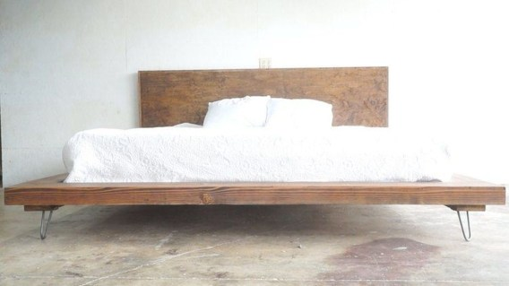Lovely Diy Wooden Platform Bed Design Ideas 46