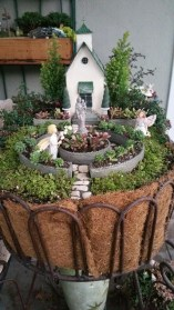 Magnificient Diy Fairy Garden Ideas With Plants 35
