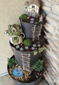 Magnificient Diy Fairy Garden Ideas With Plants 37