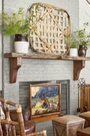 Popular Farmhouse Mantel Decorating Ideas 24