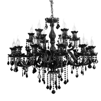 Pretty Chandelier Lamp Design Ideas For Your Bedroom 46