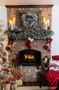 Romantic Rustic Christmas Decoration Ideas 03