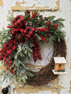 Romantic Rustic Christmas Decoration Ideas 08