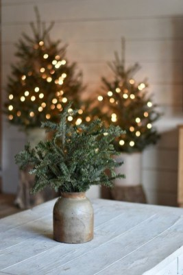 Romantic Rustic Christmas Decoration Ideas 16
