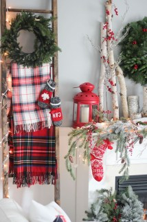 Romantic Rustic Christmas Decoration Ideas 21