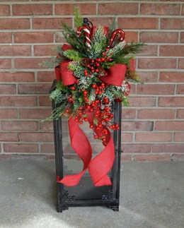 Romantic Rustic Christmas Decoration Ideas 22
