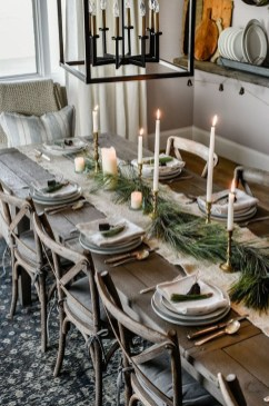 Romantic Rustic Christmas Decoration Ideas 26