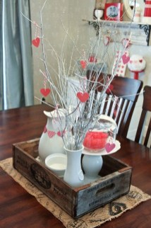 Stunning Red Home Decor Ideas For Valentines Day 09