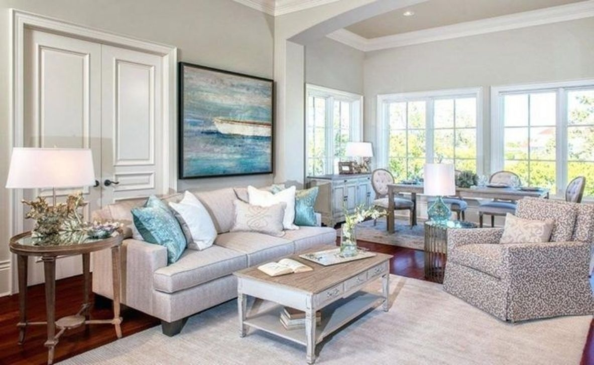 30 Stylish Coastal Themed Living Room Decor Ideas Trendecors