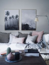 Affordable Apartment Living Room Design Ideas With Black And White Style 20
