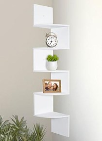 Amazing Corner Shelves Design Ideas 30