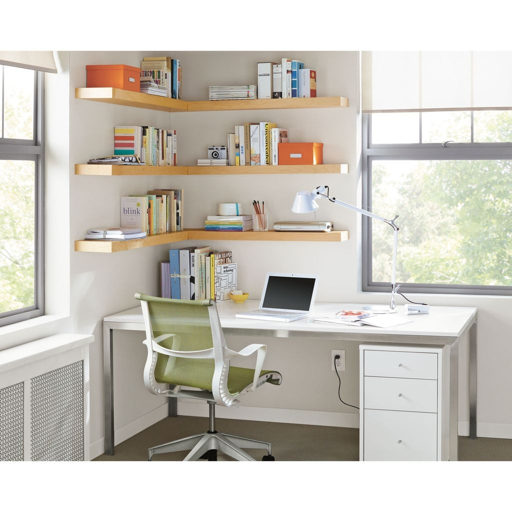Amazing Corner Shelves Design Ideas 32