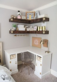 Amazing Corner Shelves Design Ideas 33