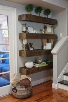Amazing Corner Shelves Design Ideas 47