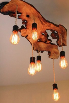 Charming Industrial Lighting Design Ideas For Home 26