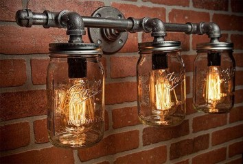 Charming Industrial Lighting Design Ideas For Home 30