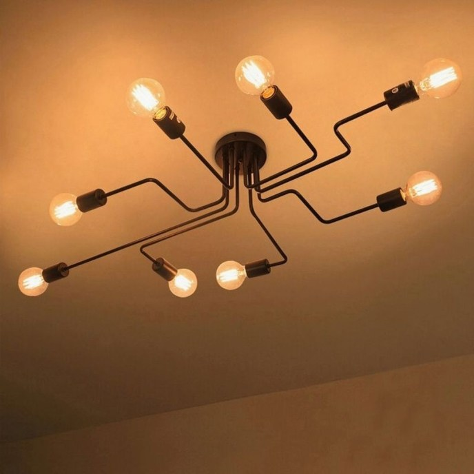 Charming Industrial Lighting Design Ideas For Home 41