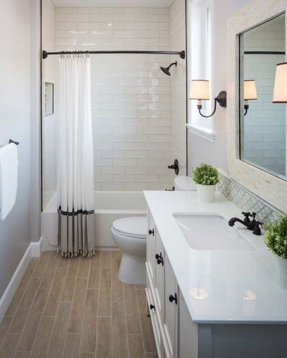 Cheap Bathroom Remodel Design Ideas 46