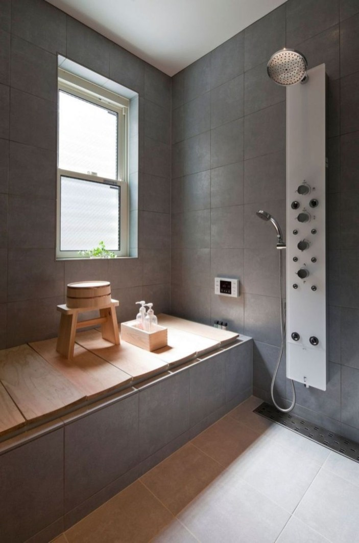 Comfy Traditional Bathroom Design Ideas With Japanese Style 09