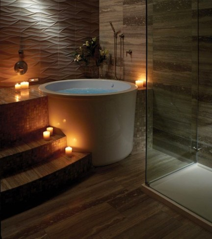 Comfy Traditional Bathroom Design Ideas With Japanese Style 13