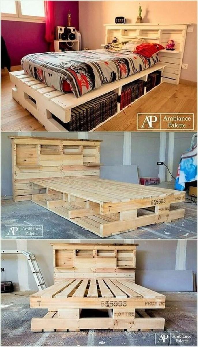 Elegant Diy Pallet Furniture Design Ideas 20
