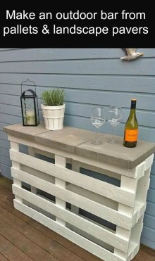 Elegant Diy Pallet Furniture Design Ideas 41