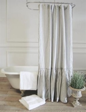 Fancy Shower Curtain Ideas 15