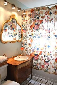 Fancy Shower Curtain Ideas 37