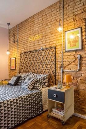Fantastic Industrial Bedroom Design Ideas 17