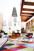 Fascinating Colorful Rug Designs Ideas For Living Room 36
