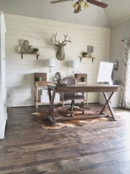 Gorgeous Industrial Table Design Ideas For Home Office 25