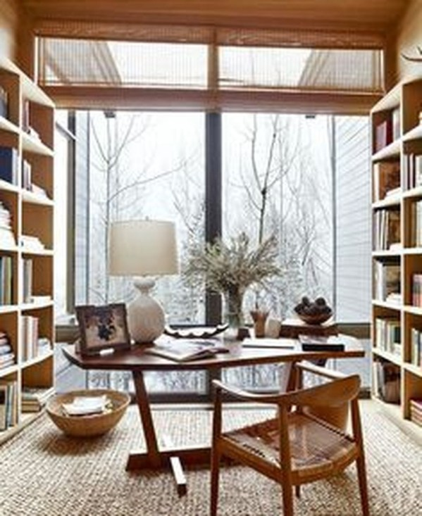 Gorgeous Industrial Table Design Ideas For Home Office 48