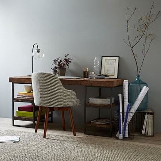Gorgeous Industrial Table Design Ideas For Home Office 50