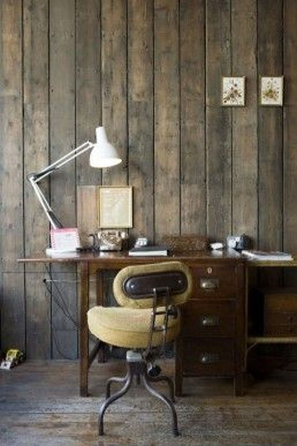 Gorgeous Industrial Table Design Ideas For Home Office 52