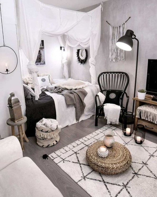 Lovely Boho Bedroom Decor Ideas 38