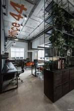 Magnificient Industrial Office Design Ideas 18