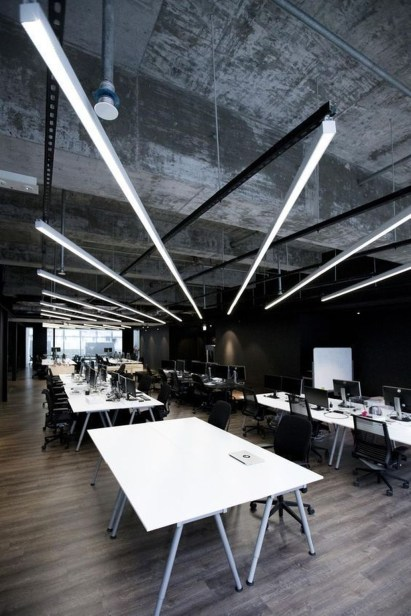 Magnificient Industrial Office Design Ideas 24