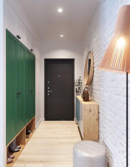 Minimalist Tiny Apartment Shoe Storage Design Ideas 09
