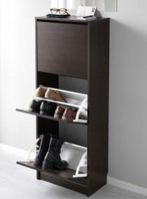 Minimalist Tiny Apartment Shoe Storage Design Ideas 32