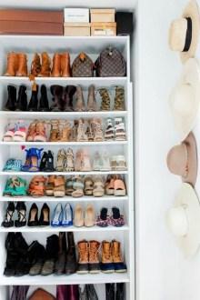 Minimalist Tiny Apartment Shoe Storage Design Ideas 38