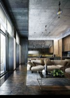 Perfect Industrial Style Loft Designs Ideas For Living Room 35