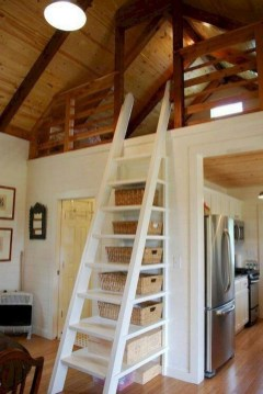 Relaxing Small Loft Bedroom Designs 08