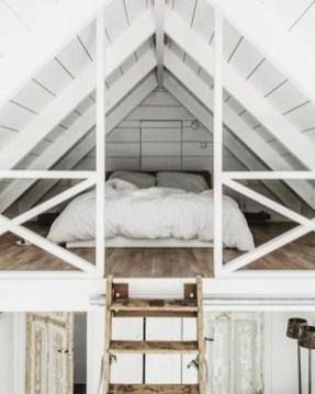 Relaxing Small Loft Bedroom Designs 09