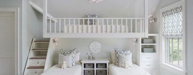 Relaxing Small Loft Bedroom Designs 10