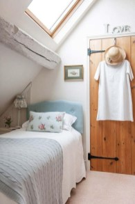 Relaxing Small Loft Bedroom Designs 33