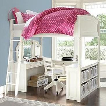 Relaxing Small Loft Bedroom Designs 42