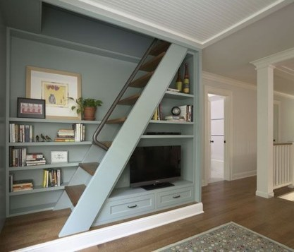 Relaxing Small Loft Bedroom Designs 50