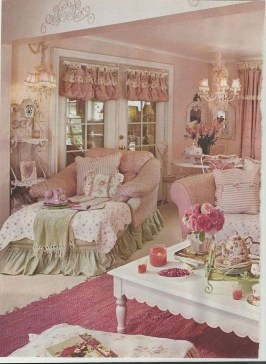 Shabby Chic Decoration Ideas For Living Room 09